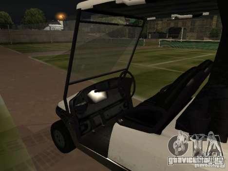 Caddy из GTA TBoGT для GTA San Andreas вид справа