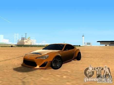 Toyota FT86 Rocket Bunny V2 для GTA San Andreas