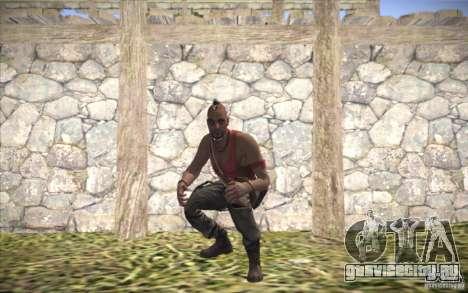 Ваас из Far Cry 3 для GTA San Andreas второй скриншот