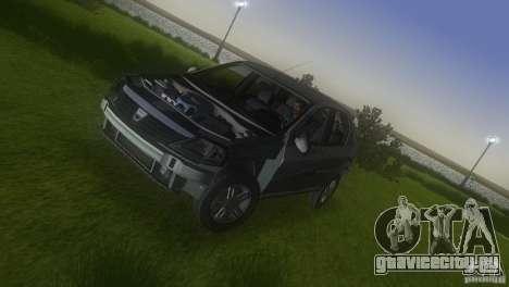 Dacia Logan для GTA Vice City вид сверху