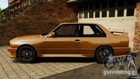 BMW M3 E30 Stock 1991 для GTA 4 вид слева