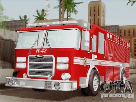 Pierce Contender LAFD Rescue 42 для GTA San Andreas