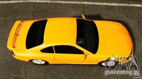 Nissan Silvia S15 Stock для GTA 4 вид справа