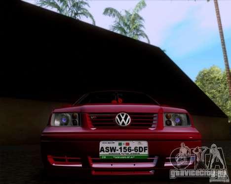 Volkswagen Jetta 2005 для GTA San Andreas вид сзади