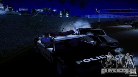 Копы стреляют из машин для GTA San Andreas третий скриншот