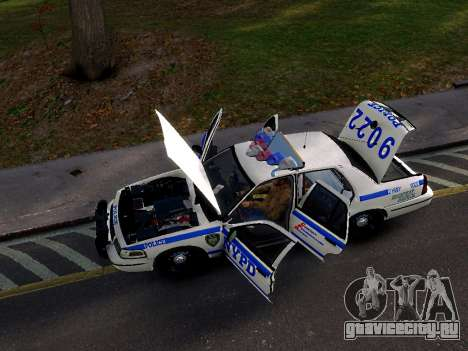Ford Crown Victoria NYPD для GTA 4