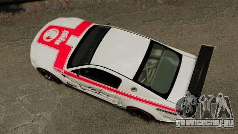 Ford Mustang GTR для GTA 4 вид справа