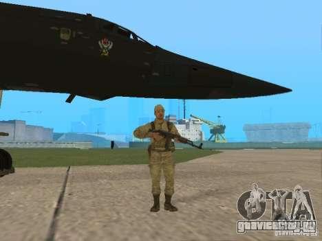 Ту 160 Black Jack для GTA San Andreas вид сзади