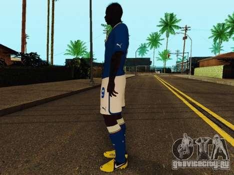 Марио Балотелли v4 для GTA San Andreas третий скриншот
