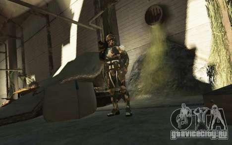 Crysis 3 The Hunter skin для GTA 4 пятый скриншот