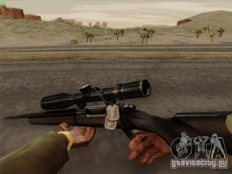 Remington 700 для GTA San Andreas третий скриншот