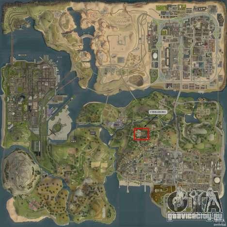 Село Степаново для GTA San Andreas пятый скриншот