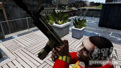 SCAR-L для GTA 4 третий скриншот