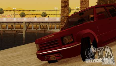 Huntley Freelander для GTA San Andreas вид снизу