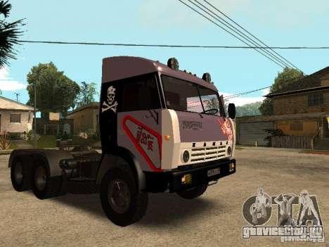 КамАЗ 5410 для GTA San Andreas вид снизу