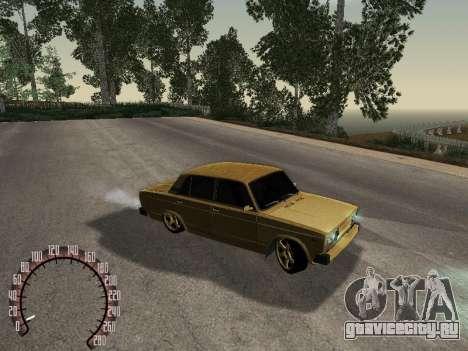 ВАЗ 2105 Gold для GTA San Andreas вид справа