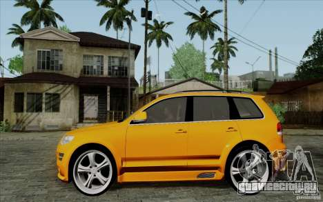 Volkswagen Touareg R50 Light для GTA San Andreas вид слева