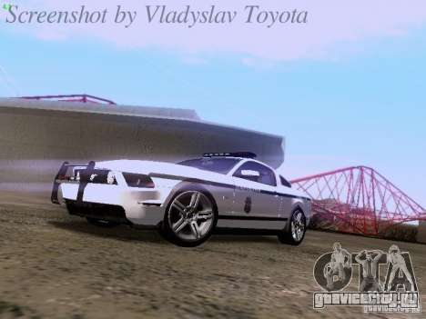 Ford Mustang GT 2011 Police Enforcement для GTA San Andreas