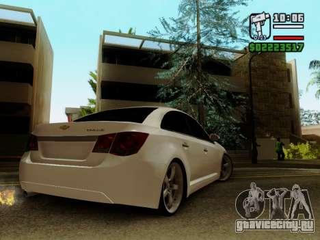 Chevrolet Cruze для GTA San Andreas вид слева