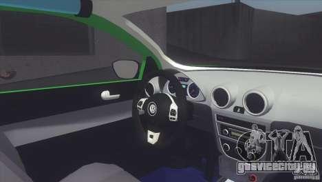 Volkswagen Saveiro 2013 для GTA San Andreas вид сзади слева