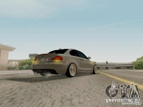 BMW 135i для GTA San Andreas вид справа