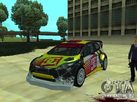 Ford Fiesta H.F.H.V. Ken Block Gymkhana 5 для GTA San Andreas