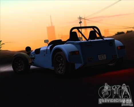 Caterham Superlight R500 для GTA San Andreas вид сбоку