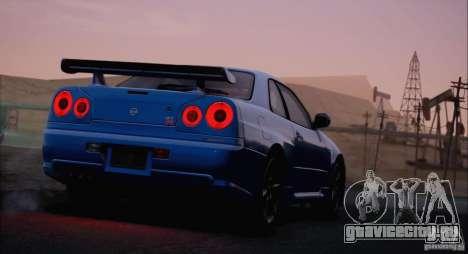SA_NGGE ENBSeries v1.2 Final для GTA San Andreas десятый скриншот