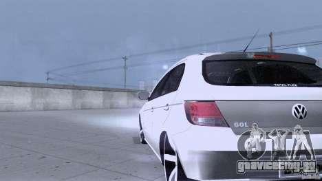 Volkswagen Golf G5 для GTA San Andreas вид изнутри