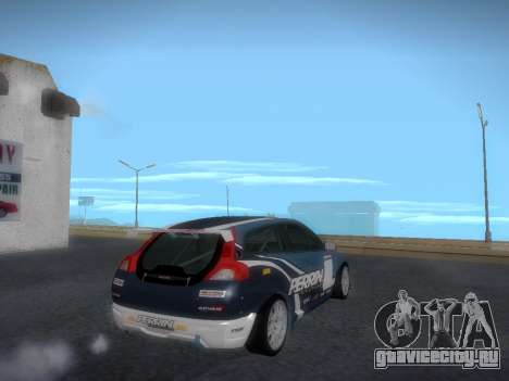 Volvo C30 Race для GTA San Andreas вид сбоку