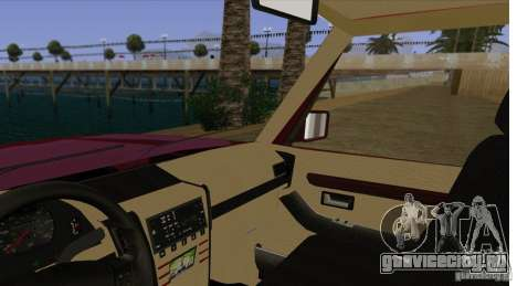 Huntley Freelander для GTA San Andreas вид изнутри