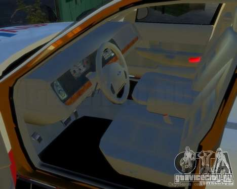 Ford Crown Victoria for FlyUS Car для GTA 4 вид слева