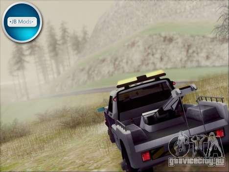 New Towtruck для GTA San Andreas вид слева
