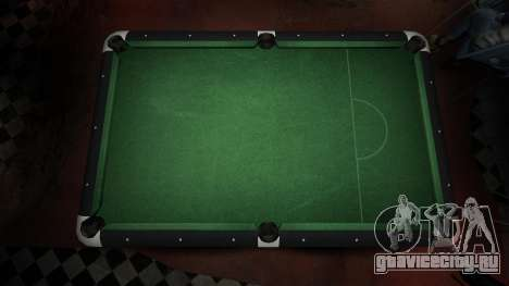 Улучшенный бильярдный стол в баре 8 шаров для GTA 4