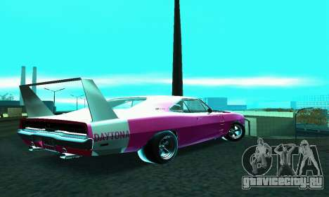 Dodge Charger Daytona SRT10 для GTA San Andreas вид слева