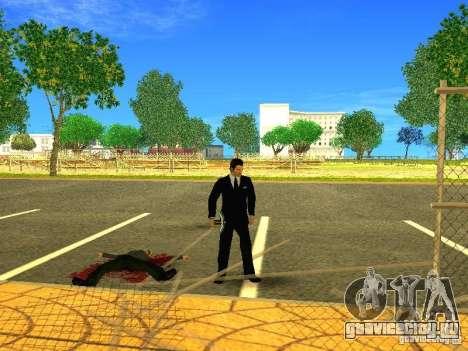 Кирка из игры Minecraft для GTA San Andreas пятый скриншот