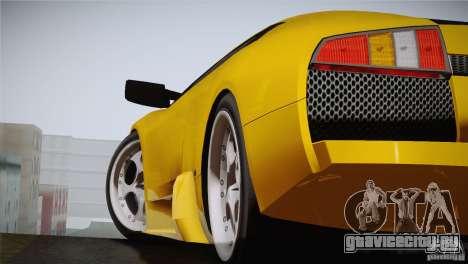 Lamborghini Murcielago 2002 v 1.0 для GTA San Andreas вид сзади слева