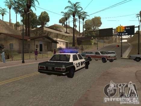 Admiral LSPD для GTA San Andreas вид справа