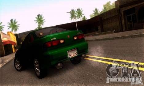 Honda Integra Tunable для GTA San Andreas вид сзади слева