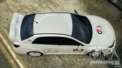 Subaru Impreza WRX STi 2011 G4S Estonia для GTA 4 вид изнутри