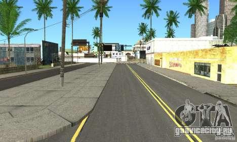Real HQ Roads для GTA San Andreas четвёртый скриншот