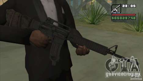 M16A4 from BF3 для GTA San Andreas
