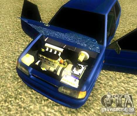 ВАЗ 2113 LT для GTA San Andreas вид справа