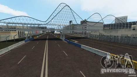 Long Beach Circuit [Beta] для GTA 4 пятый скриншот