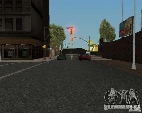 Новые текстуры дорог для GTA UNITED для GTA San Andreas шестой скриншот