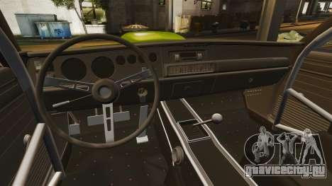 Dodge Charger RT SharkWide для GTA 4 вид сбоку