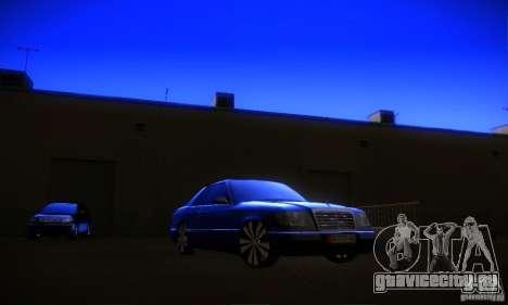 Mercedes-Benz CE 320 для GTA San Andreas вид сзади