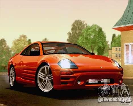 Mitsubishi Eclipse GTS 2003 для GTA San Andreas вид слева