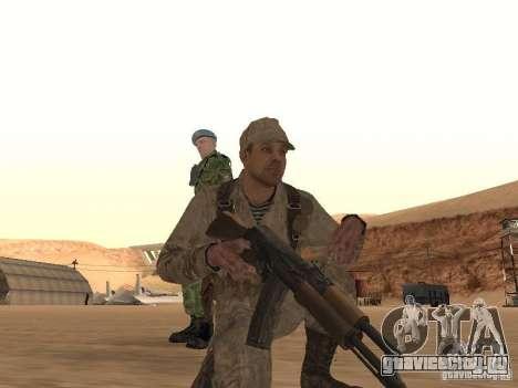 Скин Советского Солдата для GTA San Andreas третий скриншот