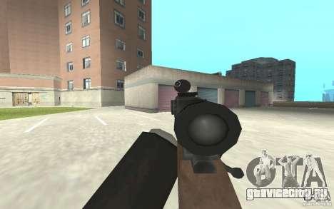 Новая анимация стрельбы  из GTA IV для GTA San Andreas десятый скриншот